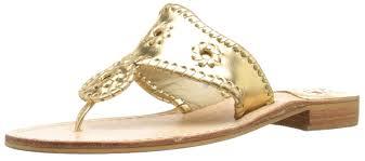 amazon com jack rogers women u0027s hamptons wide dress sandal flats