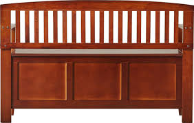 garrity wood storage bench u0026 reviews birch lane