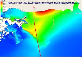 Hurricane Map Understanding Katrina