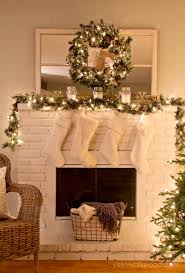 christmas decorations for mantels 38 christmas mantel decorations