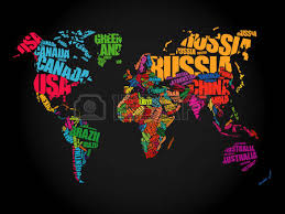 world map with country names image world map countries names stock photos royalty free world map