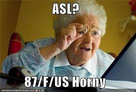 At Computer Meme - old lady meme generator
