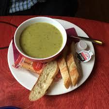 chignon cuisine soup du jour purée de vegetable picture of le crepe chignon