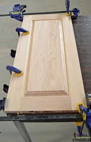 Cabinet Panel Doors Build Your Own Custom Raised Panel Cabinet Doors For Your Home Or