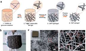 three dimensional carbon based architectures for oil remediation