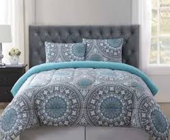 Teal And Grey Bedding Sets Gray And Blue Comforter Grey Sets For Less Overstock