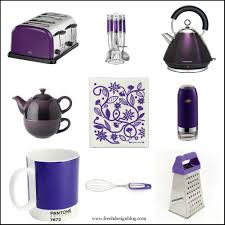 top purple kitchen accessories on new purple glass jars 3pc
