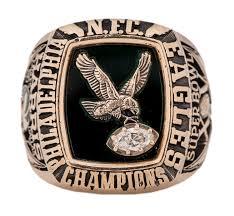lot detail 1980 philadelphia eagles nfc championship player u0027s