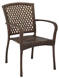 Wicker Bistro Chairs Living Accents 65 113801 Vera Bistro Chair Resin