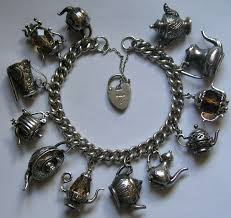 vintage silver bracelet charms images 213 best england uk english vintage charms bracelets images jpg