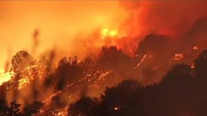 Wildfire Winters California by Wildfire Near Lake Berryessa In California Grows Evacuations