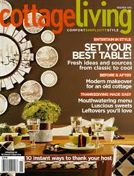 Cottage Living Magazine by Anderson Gardens Featured In Cottage Living November 2005