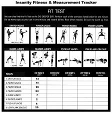 Workout Excel Spreadsheet Insanity Workout Calendar Health And Fitness Training