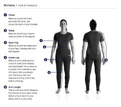 berghaus size guides