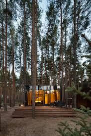 guest houses made of timber by yod design lab