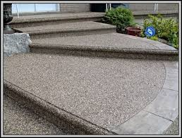 Exposed Aggregate Patio Pictures by Exposed Aggregate Concrete Patio Ideas Patios Home Decorating
