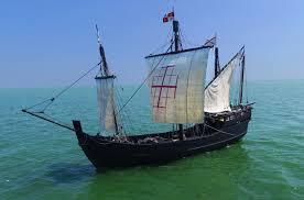 historic replicas of columbus u0027 sailing ships headed into south