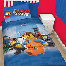 Kids Single Duvet Cover Sets The Lego Movie Awesome Childrens Boys Kids Single Duvet Quilt