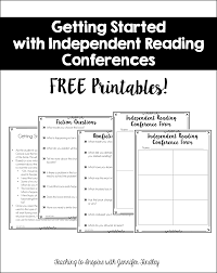 independent reading conferences a guide to getting started