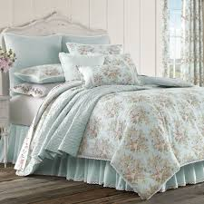 Blue Striped Comforter Set Haley Pale Blue Comforter Bedding By Piper U0026 Wright