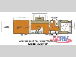 new 2013 forest river rv wildwood srv 32srvp toy hauler fifth