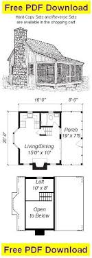 free small cabin plans with loft 154 best cabin houses images on small houses log