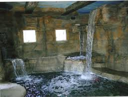 Waterfalls Decoration Home Sensational Backyard Landscape Ideas Completed Contemporary