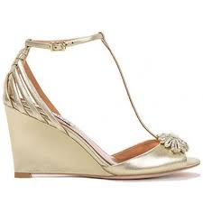 gold wedge shoes for wedding gold wedge wedding shoes wedding corners