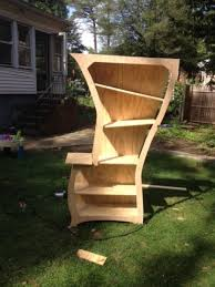 Dr Bookcase Seussical Bookshelf Project Showcase Diy Chatroom Home