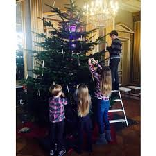 the danish royal kids show off their christmas tree decorations