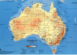 South Pacific Map Road Map Of Australia Australia Pinterest Australia And