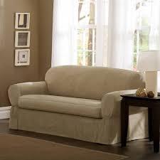 Cotton Duck Sofa Slipcover Sure Fit 3 Piece Sofa Slipcover Centerfieldbar Com