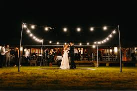 Hanging Tree Lights by Hunter Valley Wedding Venue Love Hanging Tree Wines
