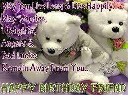 birthday wishes to best friend 6 best birthday resource gallery