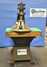 archive clicker press sterling machinery