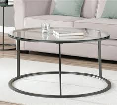 round glass top coffee table with metal base round metal table base nhmrc2017 com
