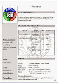 curriculum vitae format india pdf map job application email sle excellent professional job