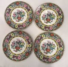 set of 3 persian flower coalport bone china cups can shape england
