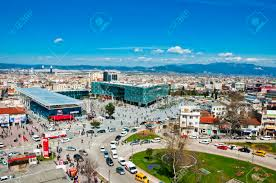 Ottoman Empire Capital March 31 2012 Bursa Turkey The City Center Of Bursa The 4th