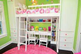 bunk beds for girls with desk kids bunk bed with desk small desk kids traditional with pink and