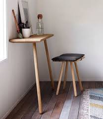 Narrow Desks For Small Spaces Amazing Best 25 Space Saving Desk Ideas On Pinterest Table Within