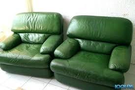 peinture pour cuir canapé exclusive design peinture pour canape en cuir blanc vert 2 fauteuils