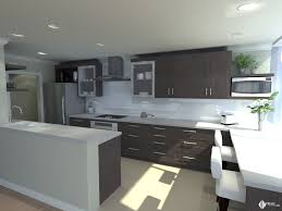 Kitchen Design Vancouver Rendering Of A Modern Kitchen Design By Shelley Scales Interior