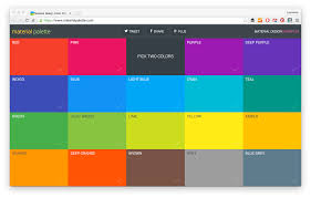 Paint Color Palette Generator by 21 Color Palette Tools For Web Designers And Developers