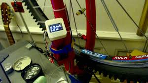 Simple Schematic Electric Cycle Counter How To Build Your Own Bike Power Meter