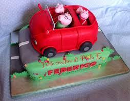 peppa pigs car cake 18 cakes cakesdecor