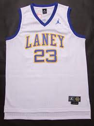 cheapest online high school nfl mlb jerseys michael laney high school jersey 23 white