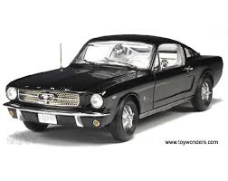 Mustang Fastback Black 1965 Ford Mustang Fastback By Rc2 Ertl Authentics 1 18 Scale