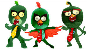 pj masks zombie angry birds coloring pages for kids pj masks