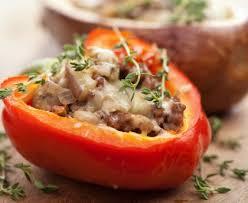 cuisiner le poivron poivrons farcis recette de poivrons farcis marmiton